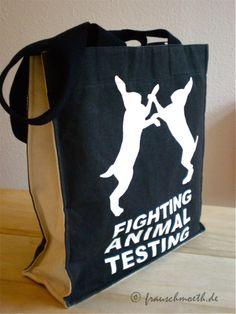 Reach Bag / Fighting Animal Testing By: LUSH Cosmetics, a cruelty free brand! Lush Cosmetics, Cruelty Free Makeup, Animal Testing, Paper Shopping Bag, Reusable Tote Bags, Animal Welfare, Luxury, Buns, Animals