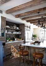 Wood beam ceiling kitchen older home remodeling ideas with roy. Wooden Ceiling Design, Wooden Ceilings, Painted Ceilings, Beamed Ceilings, Faux Beams, Wood Beams, Exposed Beams, Wood Ceiling Beams, Faux Wooden Beams