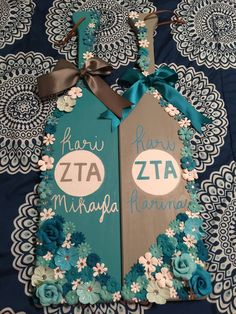 Big/Little Twin Sorority Paddles