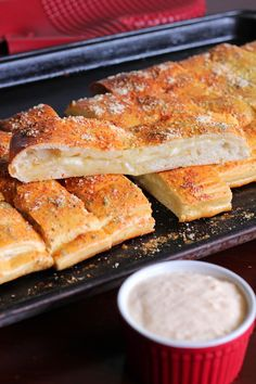 Eat Cake For Dinner: Cheesy Stuffed Garlic Parmesan Breadsticks