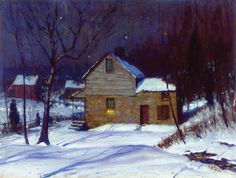George William Sotter (1879-1953)- The Neighbor's House Property from a Private Collection, New Jersey