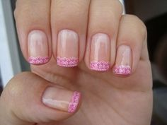 lace french...so cute...would do in white