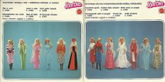 Booklet Barbie 1977 Italy pagg 15-16