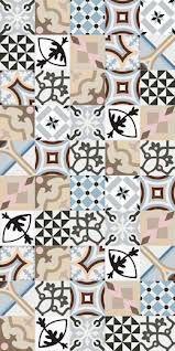 1900: Patchwork 20x20cm. | Pavimento - Gres | VIVES Azulejos y Gres S.A. #interior #design #hydraulic