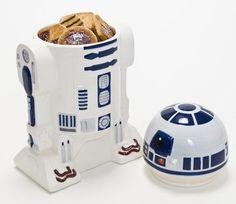 BOTE DE GALLETAS STAR WARS: R2-D2 - YoElijoElPrecio.com