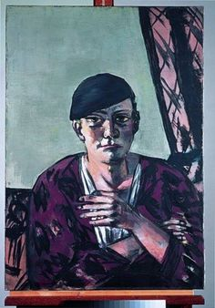 Max Beckmann, German painter, 1884-1950, member of the Sezession (1907), died in New York