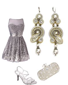 Shine on: Ring in New Year wearing showstopping festive sparkle and sequins!  #doricsengeri #newyear #newyearparty #showstoppingearrings #silverearrings #sparkle #couturejewelry