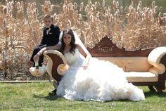 Glamorous Wedding Dress, handsome little ring bearer.