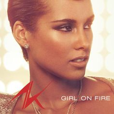 I'm listening to Girl On Fire by Alicia Keys on Pandora
