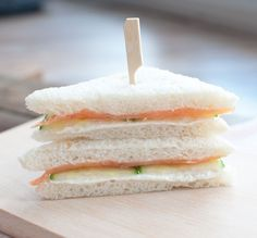Recept: 4 sandwiches voor bij de high tea - Savory Sweets