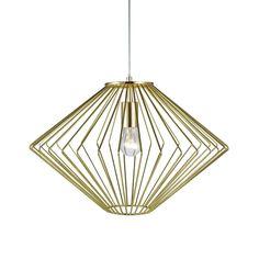 Markslöjd Edge Messing Taklampe Brass Lamp, Home Living, Mini Pendant, Scandinavian Design, Lighting Design, Mid-century Modern, Bulb, Ceiling Lights, Home Decor