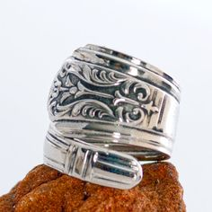 Hey, I found this really awesome Etsy listing at http://www.etsy.com/listing/130848679/royal-saxony-silverware-ring-vintage