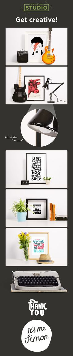 Check out Modern Picture Frame Mock-up by mesmeriseme on Creative ...