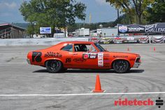 """Congrats to Billy Utley from B&B Classics Inc. for winning the Chevy High Performance Magazine High Noon Autocross Shootout at the 2014 Holley LS Fest in his '72 Nova on Forgeline ZX3R wheels. Billy nudged out Eric Earney (and his '67 Camaro) by just over 0.7 seconds. See more of Billy's Nova (aka: """"Nancy"""") at: http://www.forgeline.com/customer_gallery_view.php?cvk=901  #Forgeline #ZX3R #notjustanotherprettywheel #madeinUSA #Chevy #Nova #LSFest"""