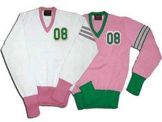 AKA 08 V-Neck Sweater #AKA
