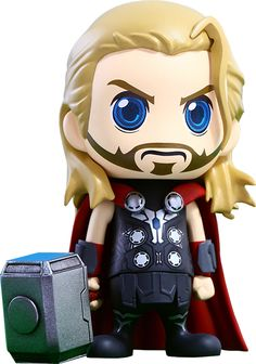 Hot Toys Marvel Avengers Age of Ultron Thor Collectible Cosbaby Action Figure Baby Marvel, Chibi Marvel, Marvel Art, Marvel Dc Comics, Marvel Heroes, Captain Marvel, Chuck Norris, Baby Wunder, Thor