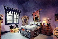 Harry Potter Room Decorating Ideas | Such a cool Harry Potter bedroom! Things I love about this room-