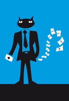 Cat In Suit (White Cash)