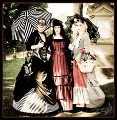 at the Victorian Picnic, one of the many events during Wave Gotik Treffen festival of all things Dark