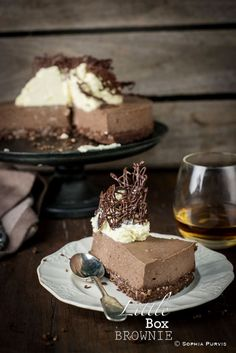 Little Box Brownie: Chocolate Cheese Cake