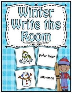 Winter Center ~ Write The Room