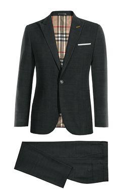 Black wool Suit http://www.tailor4less.com/en-us/men/suits/4379-black-wool-suit
