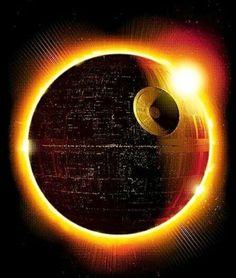 Death Star eclipse
