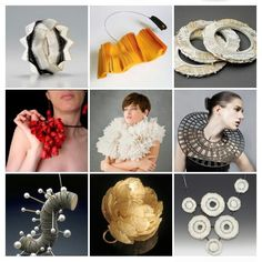 Lovely paper jewelry