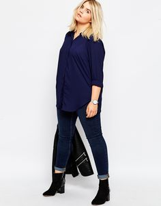 Image 4 - ASOS Curve - Blouse casual