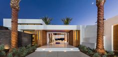 Modern Desert Home by South Coast Architects
