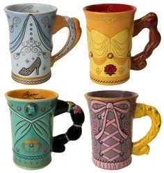 <3  these!!!    I really want the Rapunzel mug! Show Off Your Morning 'Disney Side' with New Mugs Coming to Disney Parks