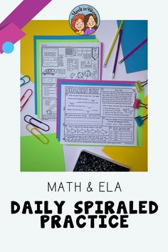 Looking for a resource that has rigorous activities for both ELA and math in upper elementary? This bundle might be exactly what you're looking for! It includes the popular I Heart Literacy spiral review resources for 3rd grade, 4th grade, and 5th grade English language arts, as well as an engaging Doodle Math spiral review resource. These reading, writing, and math activities will keep your students reviewing standards and working toward mastery. Click through to read more about this… Spiral Math, Text Dependent Questions, Bloom, Math Test, English Language Arts, Reading Passages, Reading Activities, Upper Elementary, Names