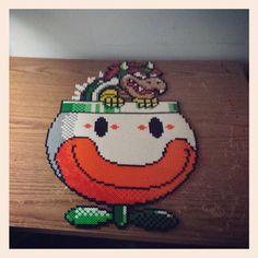 Bowser Mario perler bead sprite by kyokoizumi