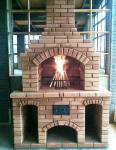Outdoor Kitchen Design Ideas and Decorating Pictures for Your Inspirations - Amazing collection of outdoor kitchen layouts to obtain you inspired. Utilize our style ideas to help produce the exceptional space for your outdoor kitchen devices. Backyard Kitchen, Outdoor Kitchen Design, Backyard Patio, Diy Grill, Barbecue Grill, Grilling, Parrilla Exterior, Brick Grill, Pizza Oven Outdoor