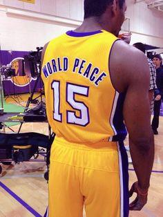 Metta World Peace :)