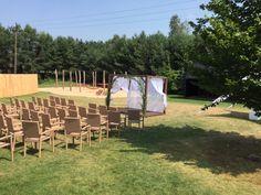 Garden wedding in the HOT_elarnia #wedding #celebrations #garden #gardenparty #weddingday