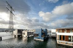 floating house IJburg Amsterdam  | SOOH © | photographer Katja Effting