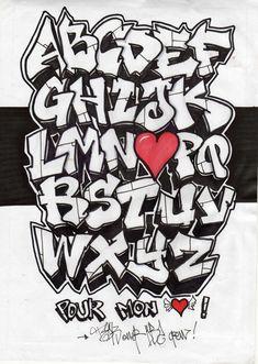 Best Graffiti Alphabet   Cool Graffiti Alphabet Letters