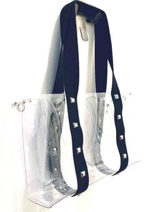 Clear Tote Bags, Studs, Cotton, Fashion, Moda, Fashion Styles, Stud Earring, Fashion Illustrations, Stilettos