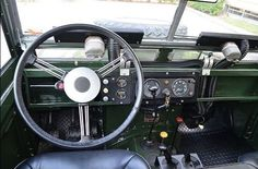 // 1964 Land Rover Series IIA 109 Interior