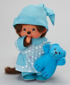 Take a look at this Pajama Boy Monchhichi Plush Toy by Monchhichi on #zulily today!