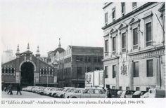 Palacio Almudí. Audiencia Provincial (Con tres plantas -ahora tiene 2-) 1946-1978