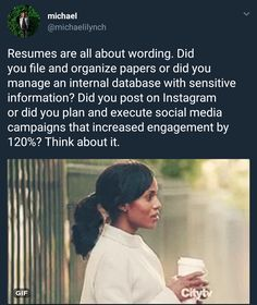 melonmemes:Resume tips for social media addicts Not sure youre. melonmemes:Resume tips for social Job Career, Career Advice, Resume Tips No Experience, Career Ideas, Studyblr, Job Help, Job Interview Tips, Job Interviews, Job Resume