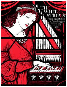 the white stripes always have good rock art posters