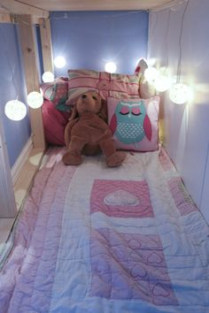 We created a wonderful white mid sleeper bed for our daughter to last well into . - Ikea DIY - The best IKEA hacks all in one place Ikea Hack Bedroom, Ikea Bed Hack, Ikea Hacks, Kids Bedroom, Bed Ikea, Bedroom Ideas, White Mid Sleeper, Mid Sleeper Bed, Box Room Beds
