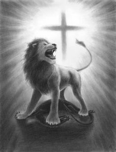the_lion_of_judah_triumphant_over_the_dragon-781x1024.jpg (781×1024)