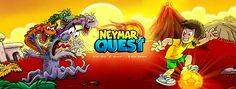 Imagem do game Neymar Jr Quest criada para a Itunes Store
