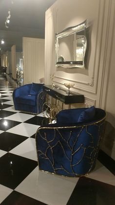Art deco interior inspiration decoration 43 Super Ideas art is part of Living room designs - Luxury Home Decor, Luxury Interior, Home Interior Design, Luxury Homes, Modern Interior, Home Decor Furniture, Luxury Furniture, Furniture Design, Antique Furniture