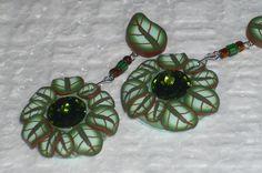 Romantischer Ohrschmuck mit edel glitzernden Glaschatons - von iCo-Design