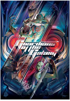 Guardians of the Galaxy - movie poster - Orlando Arocena